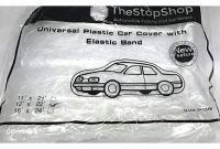 Plastic Car Covers Amazon Amazon Car Cover for Small to Mid Size Vehicles Elastic Band