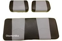 Replacement Seat Covers for Club Car Golf Cart Amazon Kool Cushions Ccds9dn Bkgystfr 01 Custom Vinyl Golf Cart