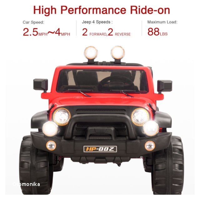 12 Volt Ride On toys with Rubber Tires 12v Kids Ride On Car toy Electric Battery Power Wheel Remote Control