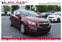 Chevrolet Dealers In northern Ky Used 2016 Chevrolet Cruze Limited for Sale
