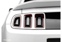 How to Remove 2014 Mustang Tail Lights How to Install Mmd Tail Light Trim Pre Painted On Your 2013 2014