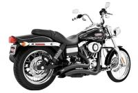 Performance Parts for Harley Davidson Motorcycles Freedom Performance Sharp Curve Radius Exhaust for Harley Dyna 2006
